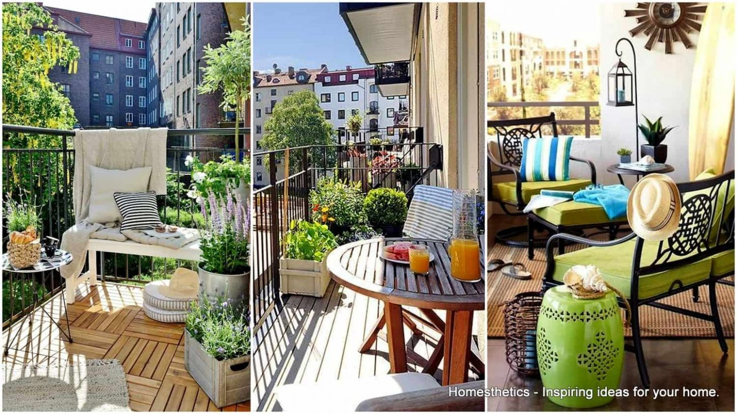 11 Small Balconies That Have A Huge Potential | Homesthetics ...