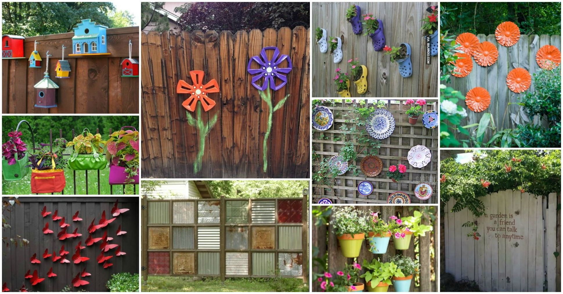 11 Smart Initiatives of How to Make Backyard Wall Decorating Ideas ..