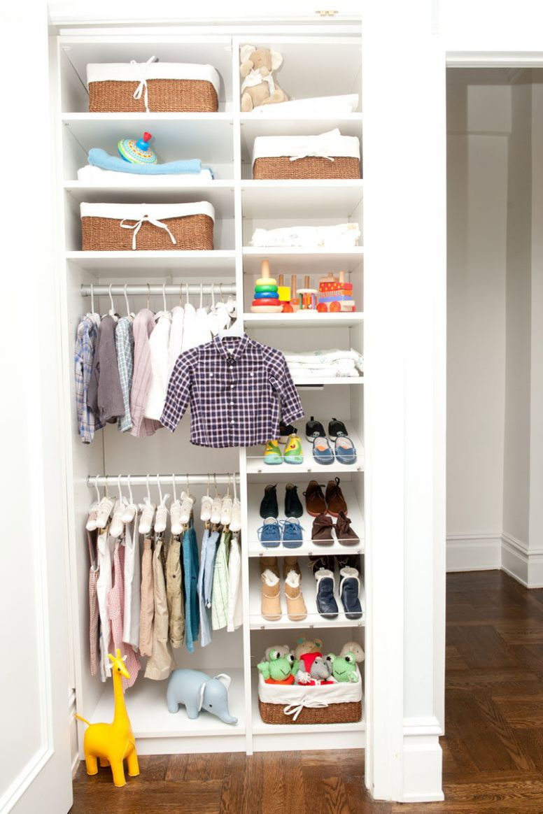 11 Storage Ideas For Small Closets
