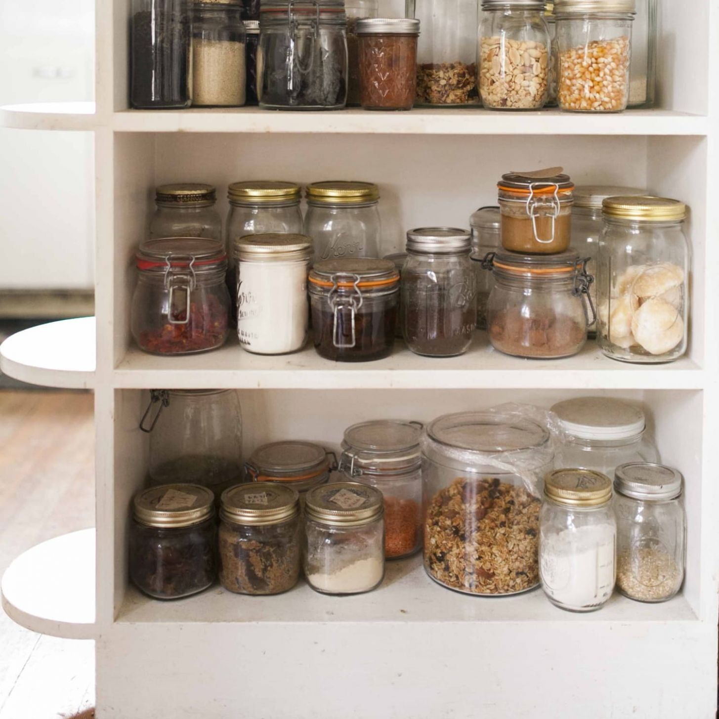 11 Ways to Use Mason Jars in the Kitchen | Kitchn - kitchen glass jar ideas