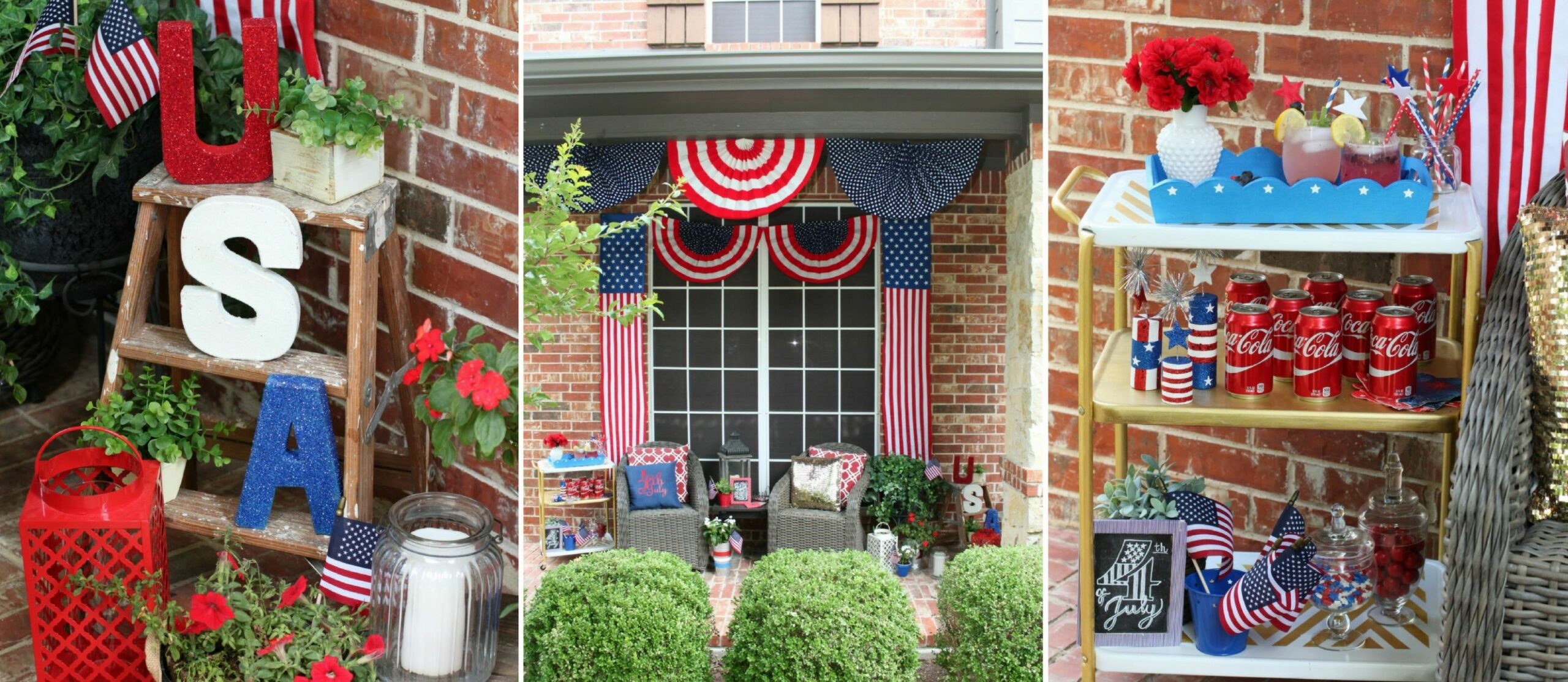 11th of July Front Porch Makeover | Fun11