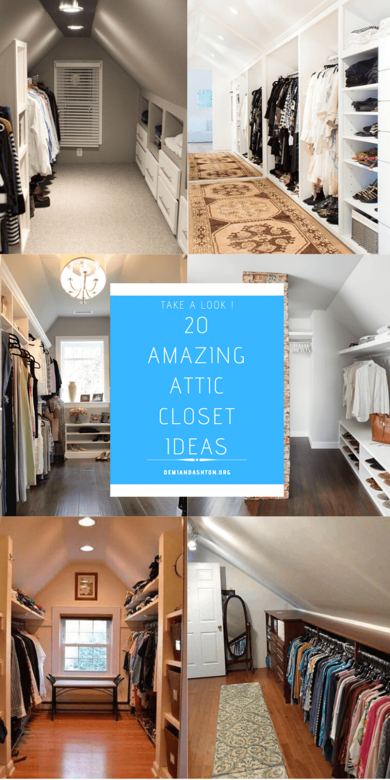 12 Amazing Examples of Attic Closet Ideas You'd Want to Try