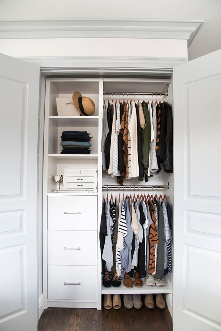 12 Awesome Closet Door Ideas to Make the Space More Unique | Small ...