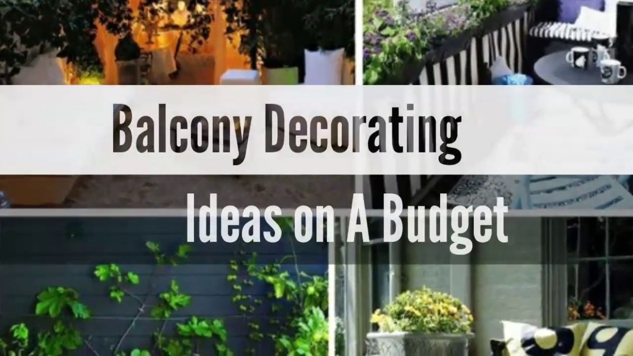 12+ Balcony Decorating Ideas on a Budget - Awesome Small Balcony Decorating  makeover #12 - balcony design ideas on a budget