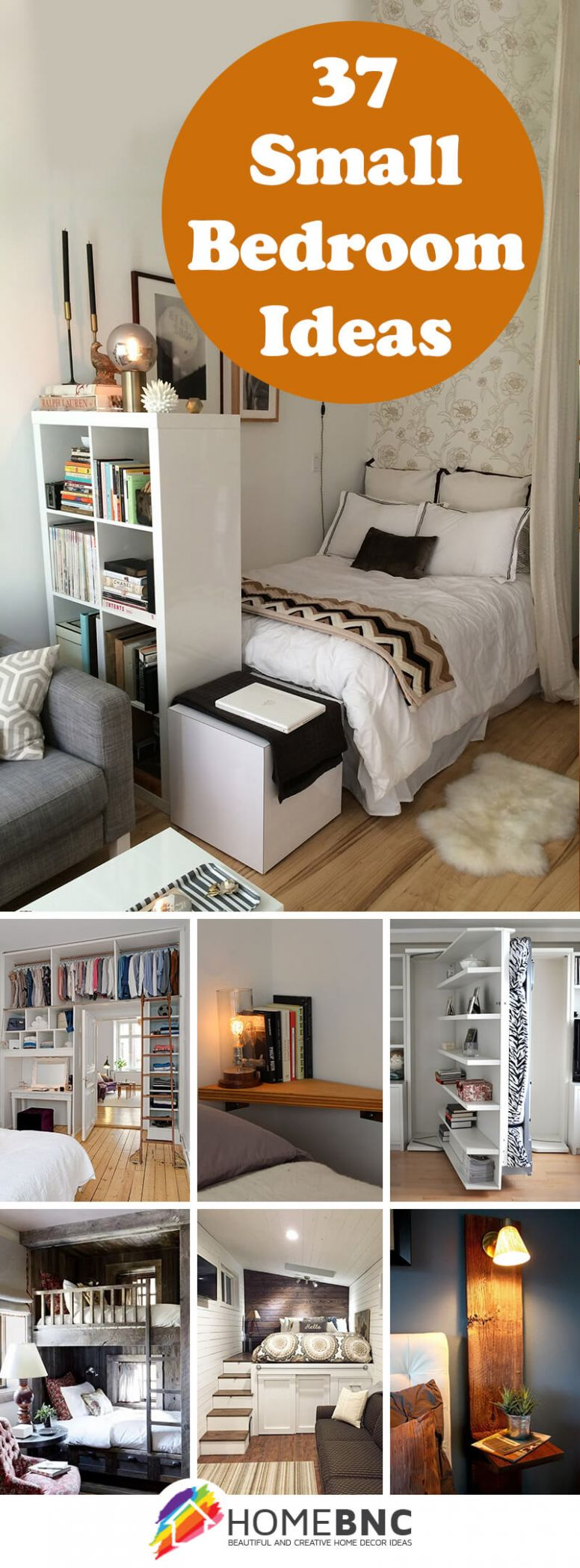 12 Best Small Bedroom Ideas and Designs for 12 - bedroom ideas small spaces