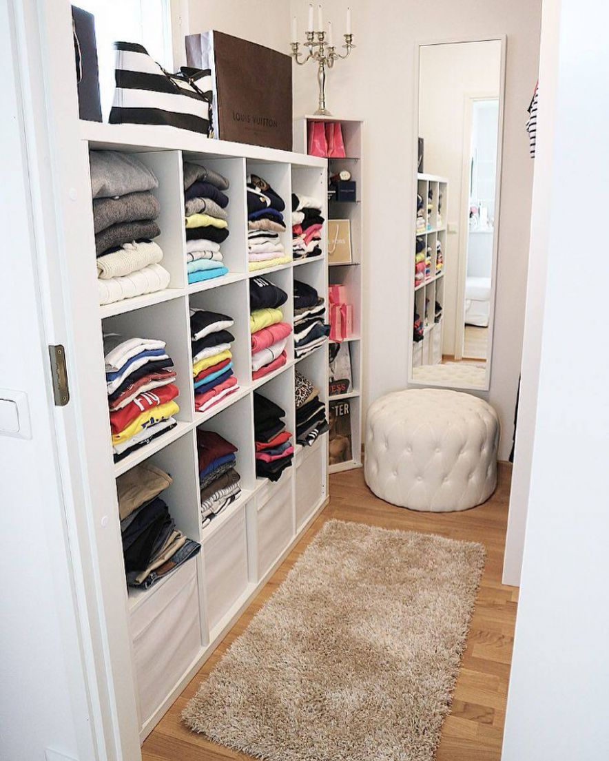 12 Best Small Walk-in Closet Storage Ideas for Bedrooms - closet ideas that work