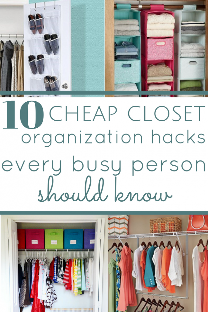 12 Cheap Closet Organization Hacks Everyone Should Know | Cheap ..