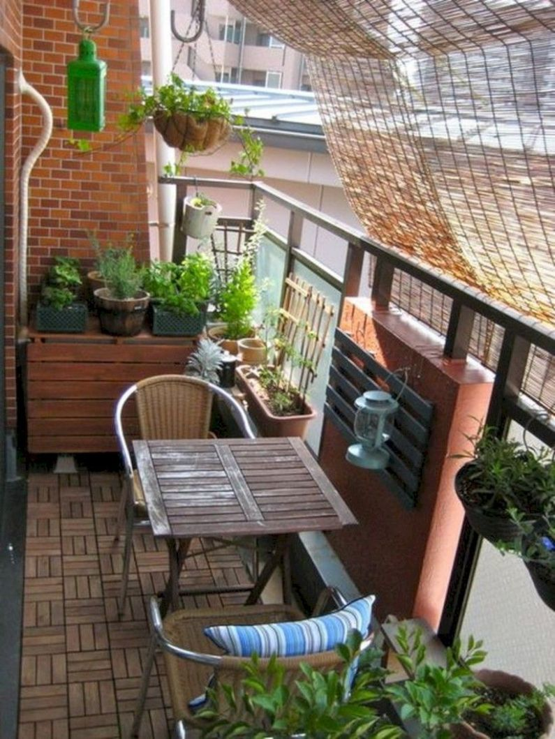 12 Creative Small Apartment Balcony Decorating Ideas On A Budget ..