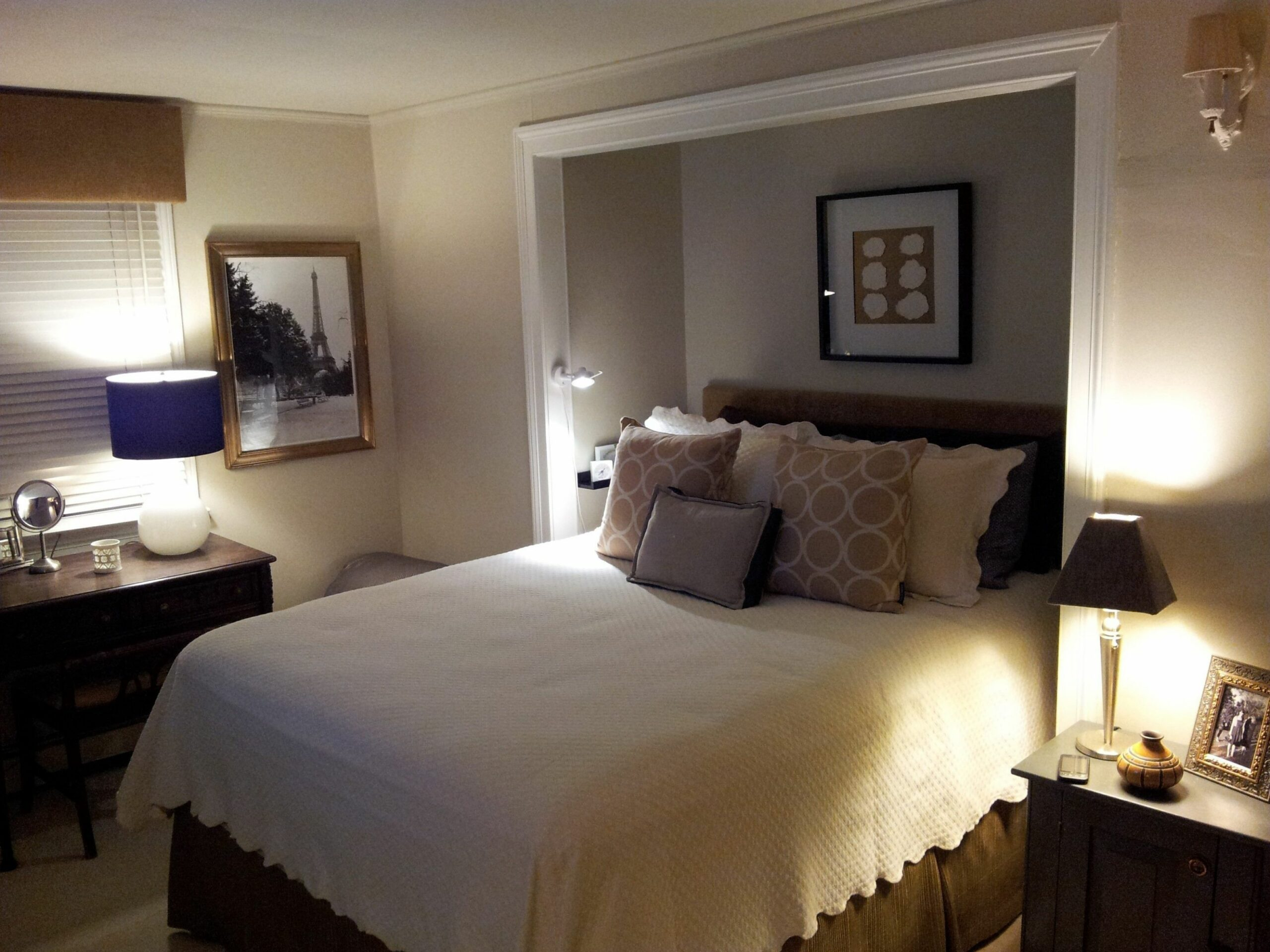 12 Creative Small Bedroom Ideas With Queen Bed And Wardrobe | Small ..