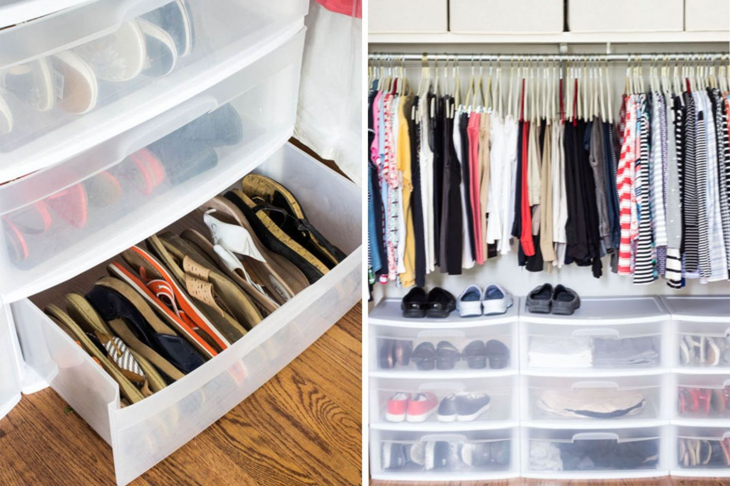 12+ Creative Ways to Organize your Shoes | Cheap closet storage ..