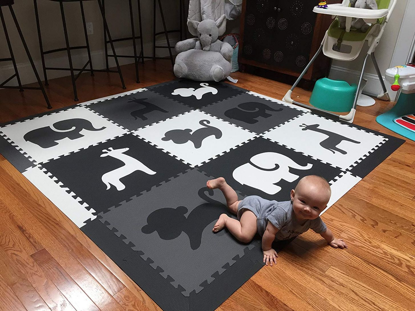 12 non toxic baby crawling mats for infant to play on