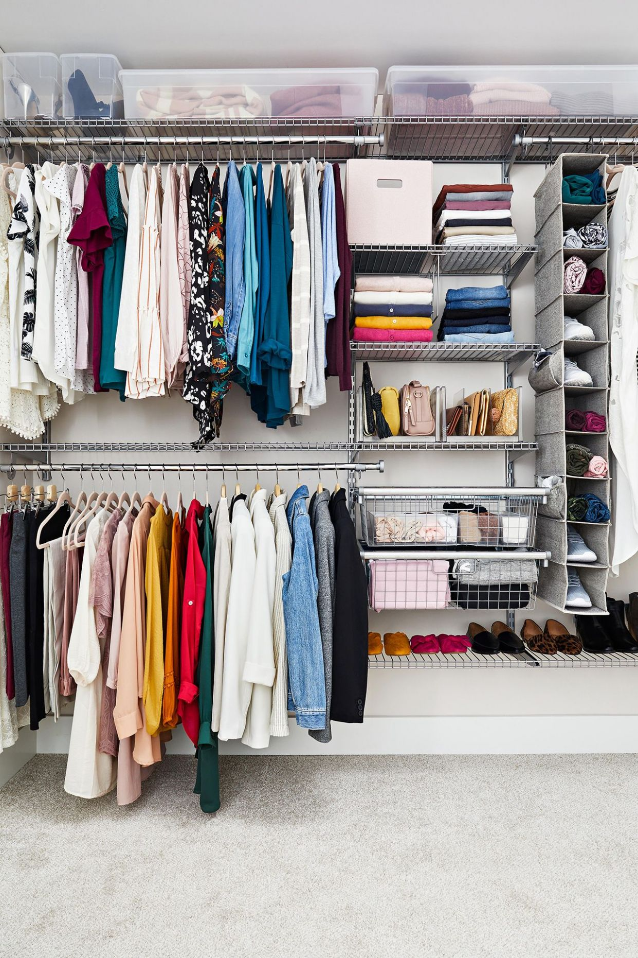 12 Organizing Tips to Steal for Your Closet in 12 | Organizing ...