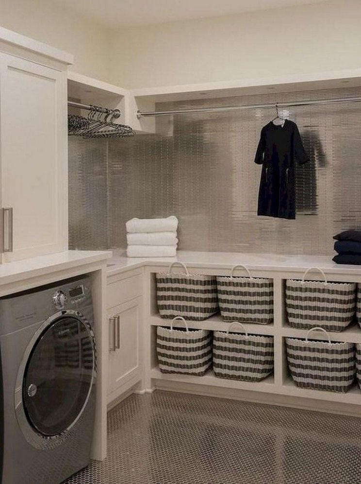 12 Simple Laundry Room Storage Organization Ideas on A Budget ..
