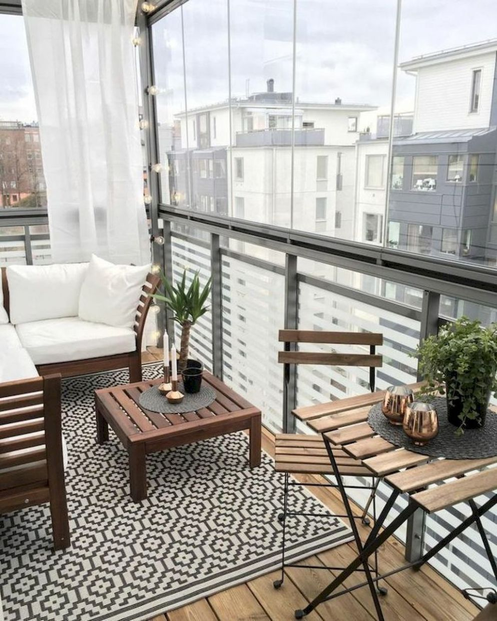 12 Small Apartment Balcony Decorating Ideas | Small balcony design ...