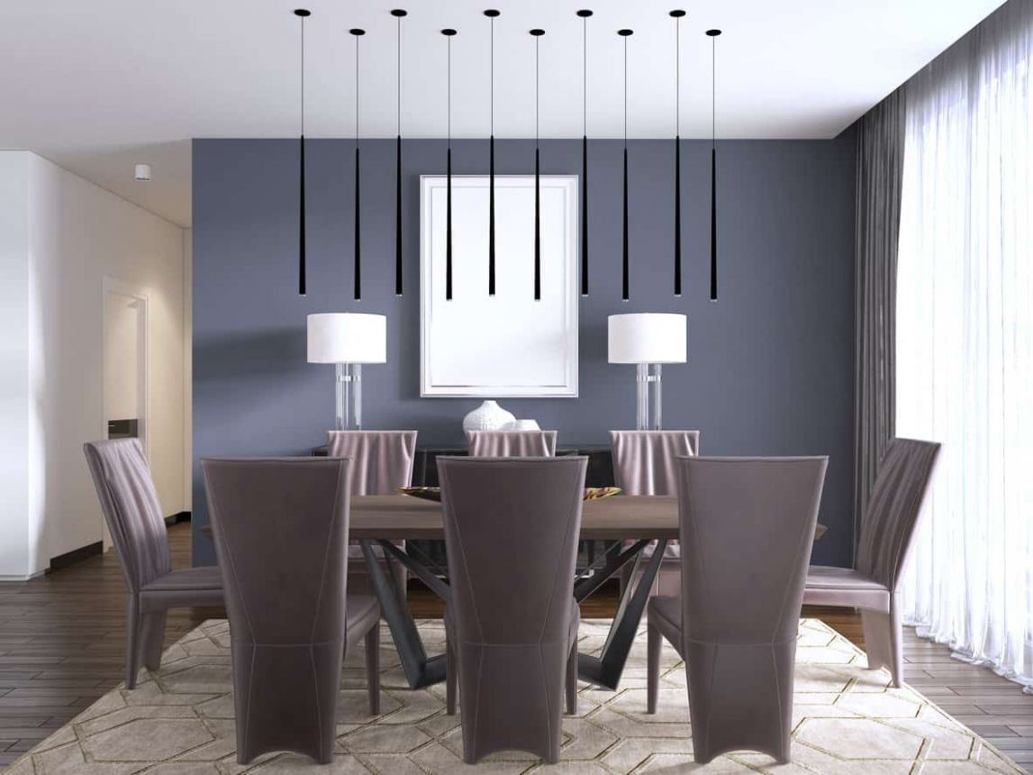 12 Useful Dining Room Storage Ideas (Photos and Concepts) - dining room ideas with grey walls