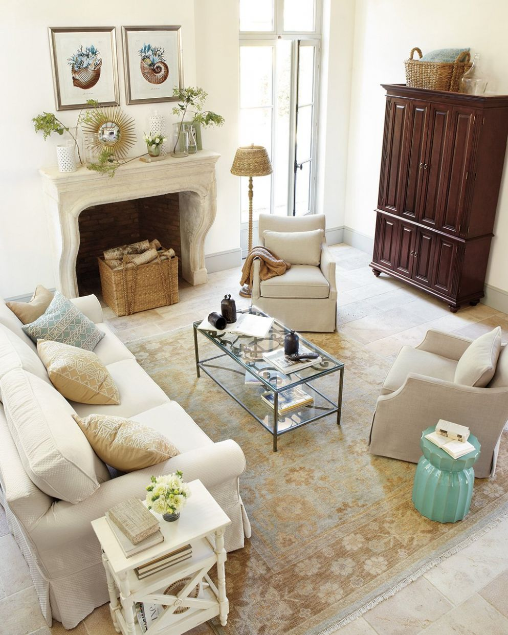 12 Ways to Layout Your Living Room | How to Decorate - living room ideas with just chairs