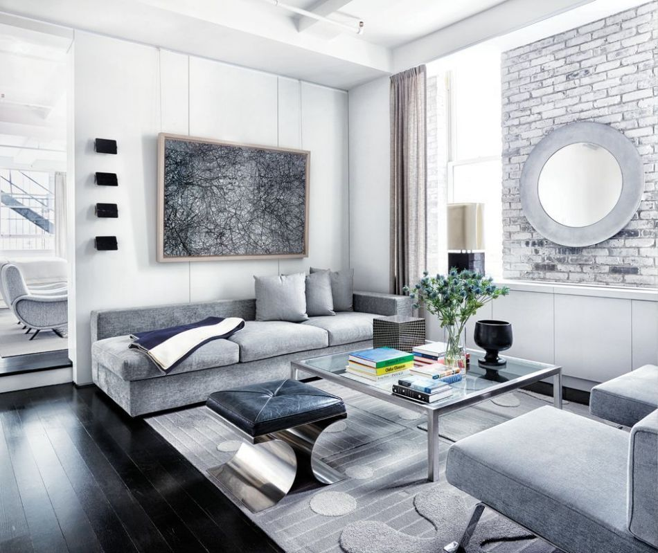 8 Best Gray Living Room Ideas - How to Use Gray Paint and Decor ...