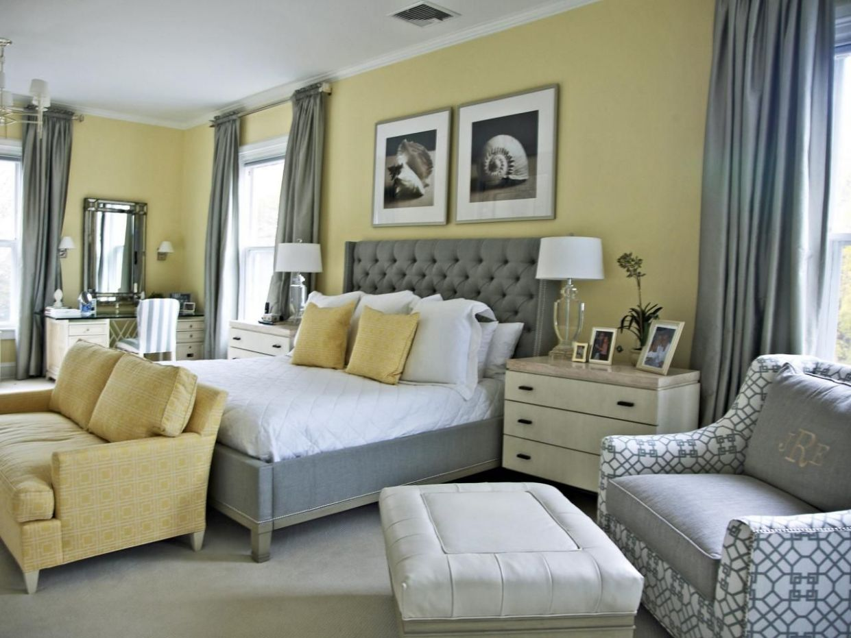 8 Cheery Yellow Bedrooms | Bedroom Decorating Ideas for Master ..