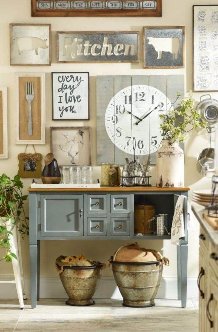 8 Country Cottage Style Kitchen Decor Ideas to Make You Fall in ..