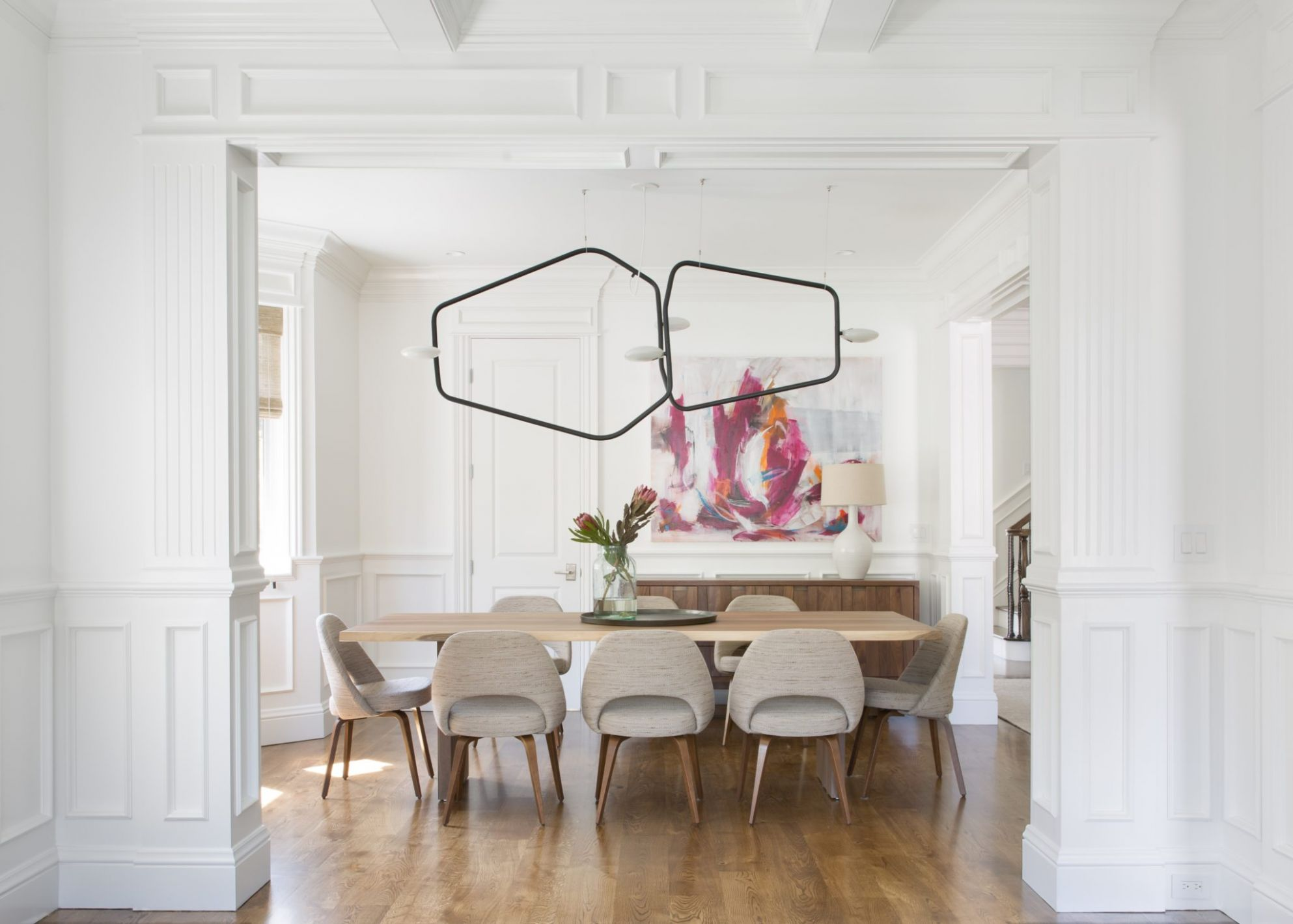 8 Dining Rooms with Wainscoting - Chairish Blog - dining room ideas with wainscoting