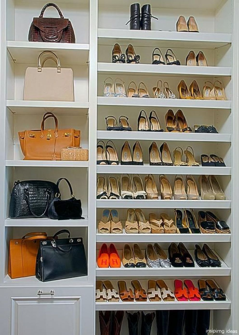 8 Genius Small Closet Ideas | Bedroom organization closet, Closet ...