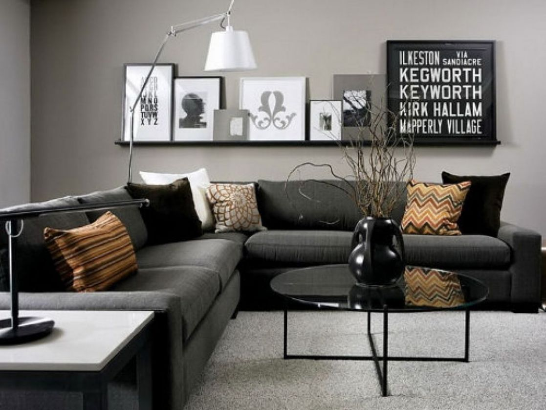 8 Living Room Designs for Small Spaces | Gray living room design ...