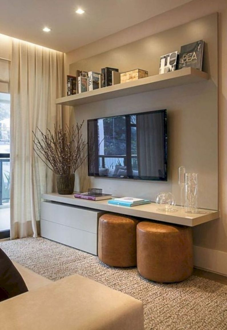 8 Small Apartment Decorating Ideas On a Budget | Wohnzimmer ...