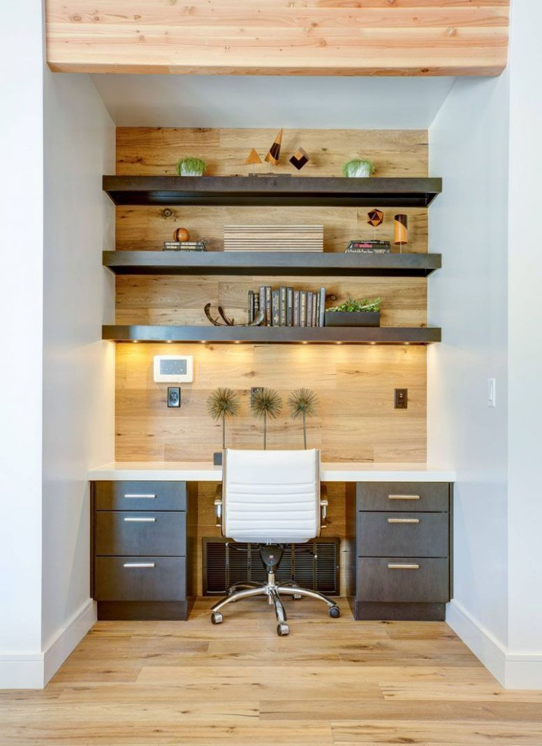 8 Small Home Office Ideas - Good lighting is essential in any ..