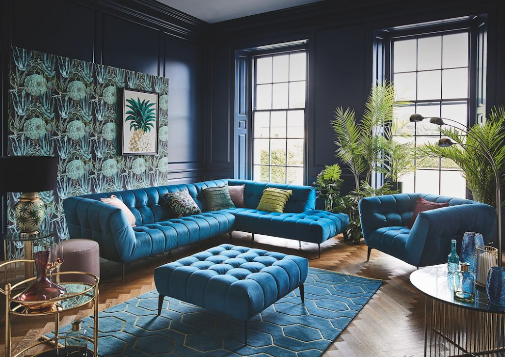 8 Teal Living Room Ideas 8 (The Color Effect) - living room ideas teal