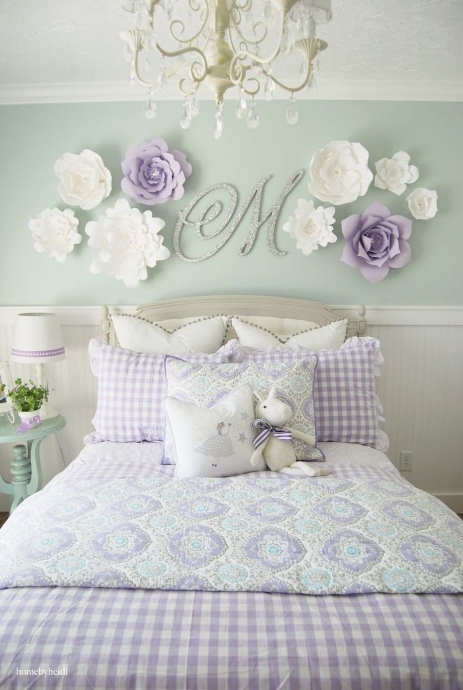 8 Wall Decor Ideas for Girls' Rooms | Pink princess room, Little ...