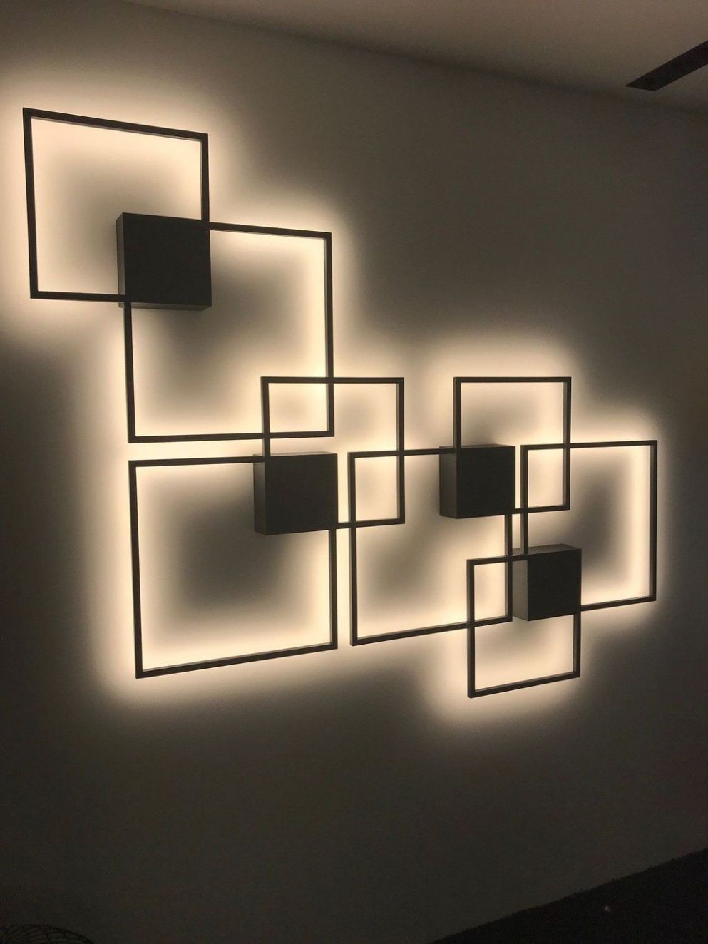 9+ Attractive Lighting Wall Art Ideas For Your Home This Season ...