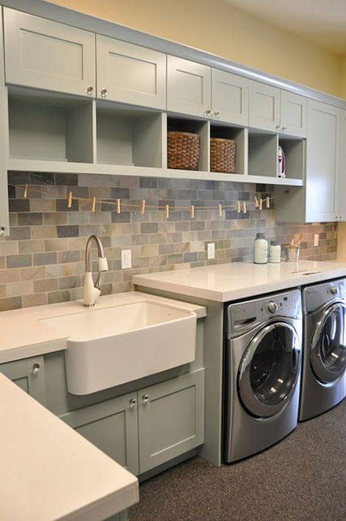 9+ Basement Laundry Room Ideas (On Decorating, Makeovers, and ..