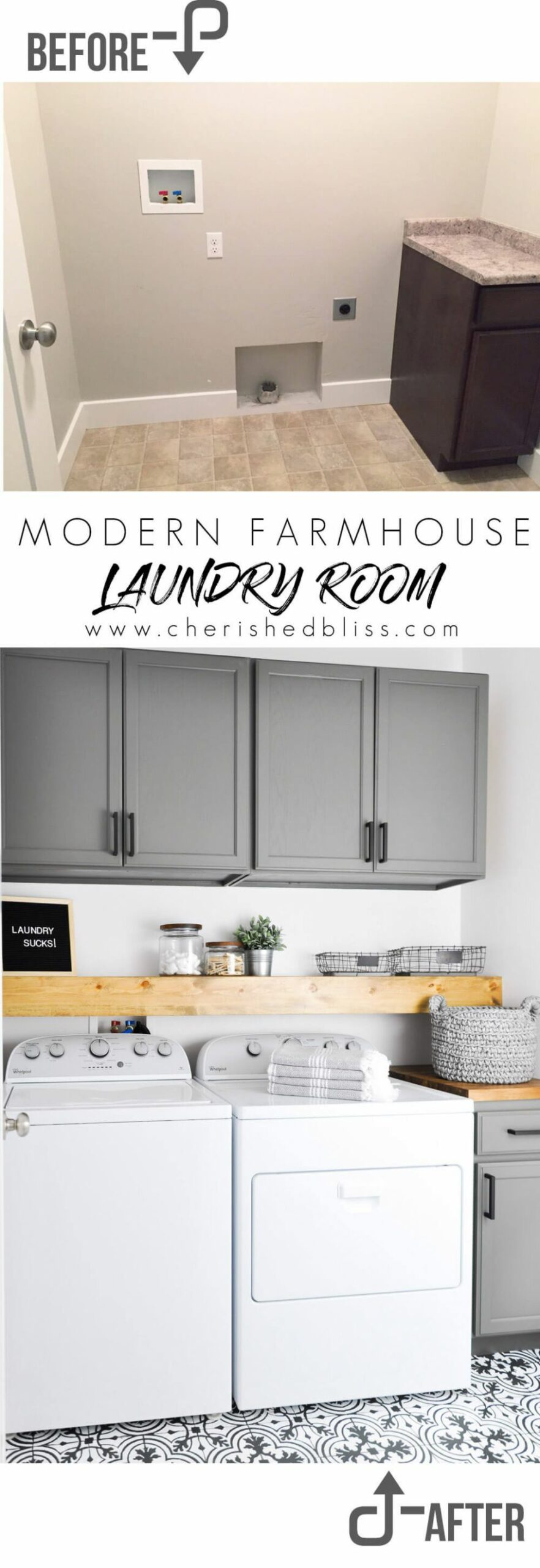 9 Best Budget Friendly Laundry Room Makeover Ideas and Designs ...