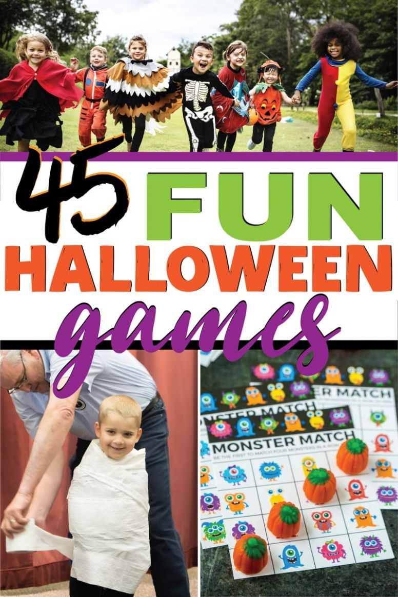 9 Best Ever Halloween Games for Kids (and adults!) - Play Party Plan - halloween ideas games