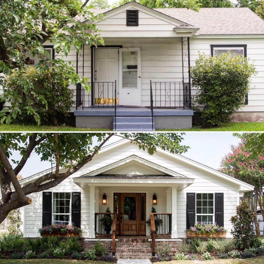 9 Best Porch Makeover Ideas and Projects for 9 - front porch ideas before and after