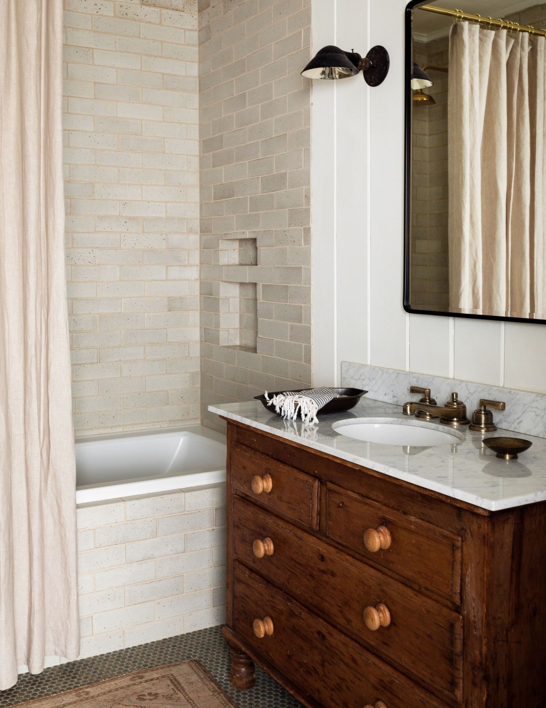9 Best Subway Tile Bathroom Designs in 9 - Subway Tile Ideas ...