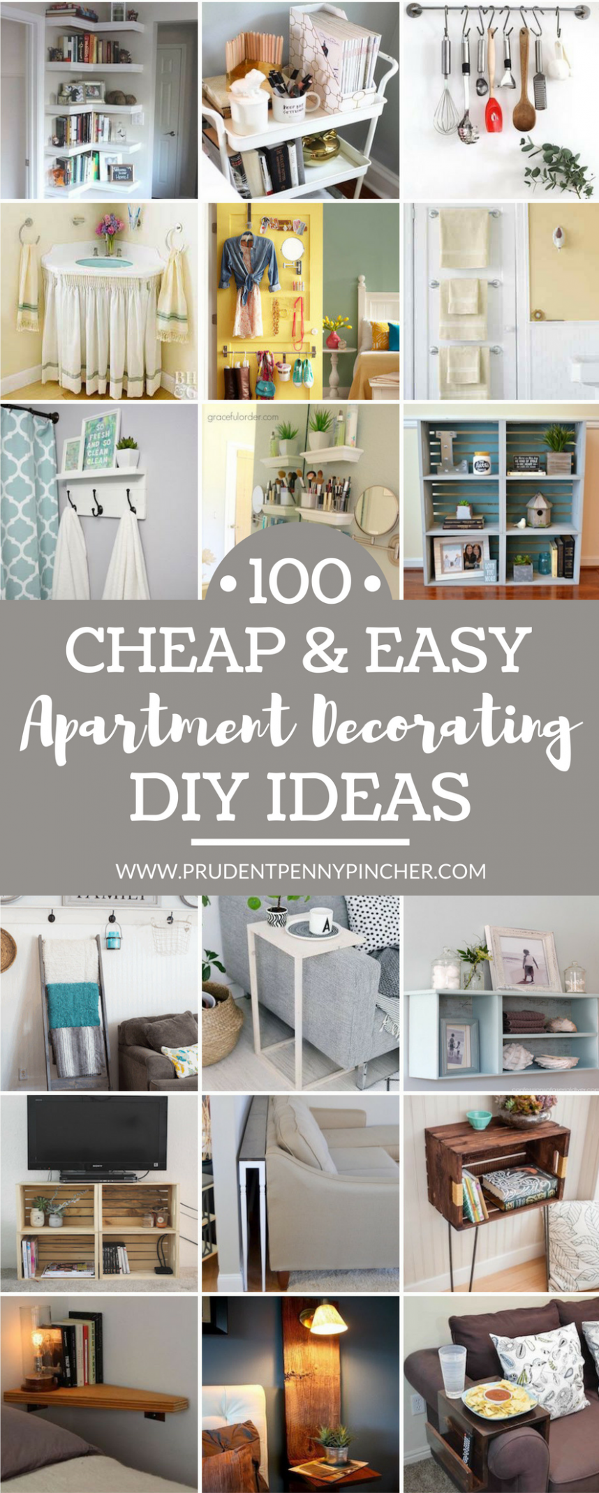9 Cheap and Easy DIY Apartment Decorating Ideas | Diy apartment ..