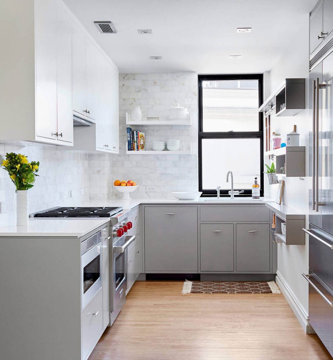 9 Creative Grey Kitchen Cabinet Ideas for Your Kitchen - kitchen ideas with gray cabinets