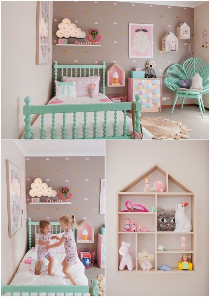 9 Cute Ideas to Decorate a Toddler Girl's Room | Kid room decor ...