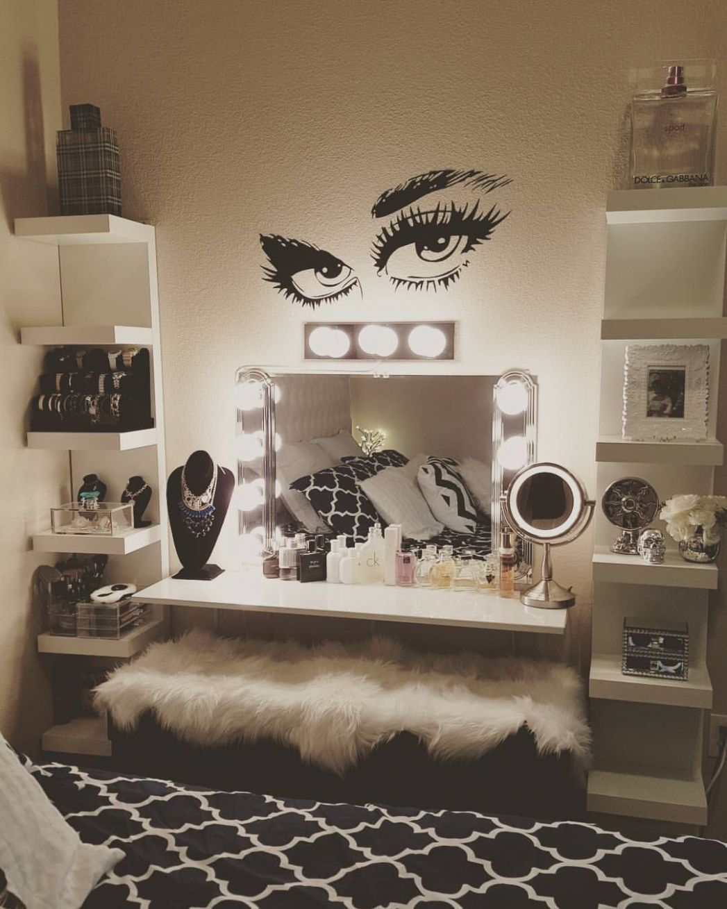 9+ DIY Makeup Room Ideas, Organizer, Storage and Decorating ..