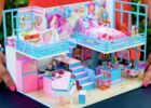 9 DIY Miniature Dollhouse Rooms Barbie