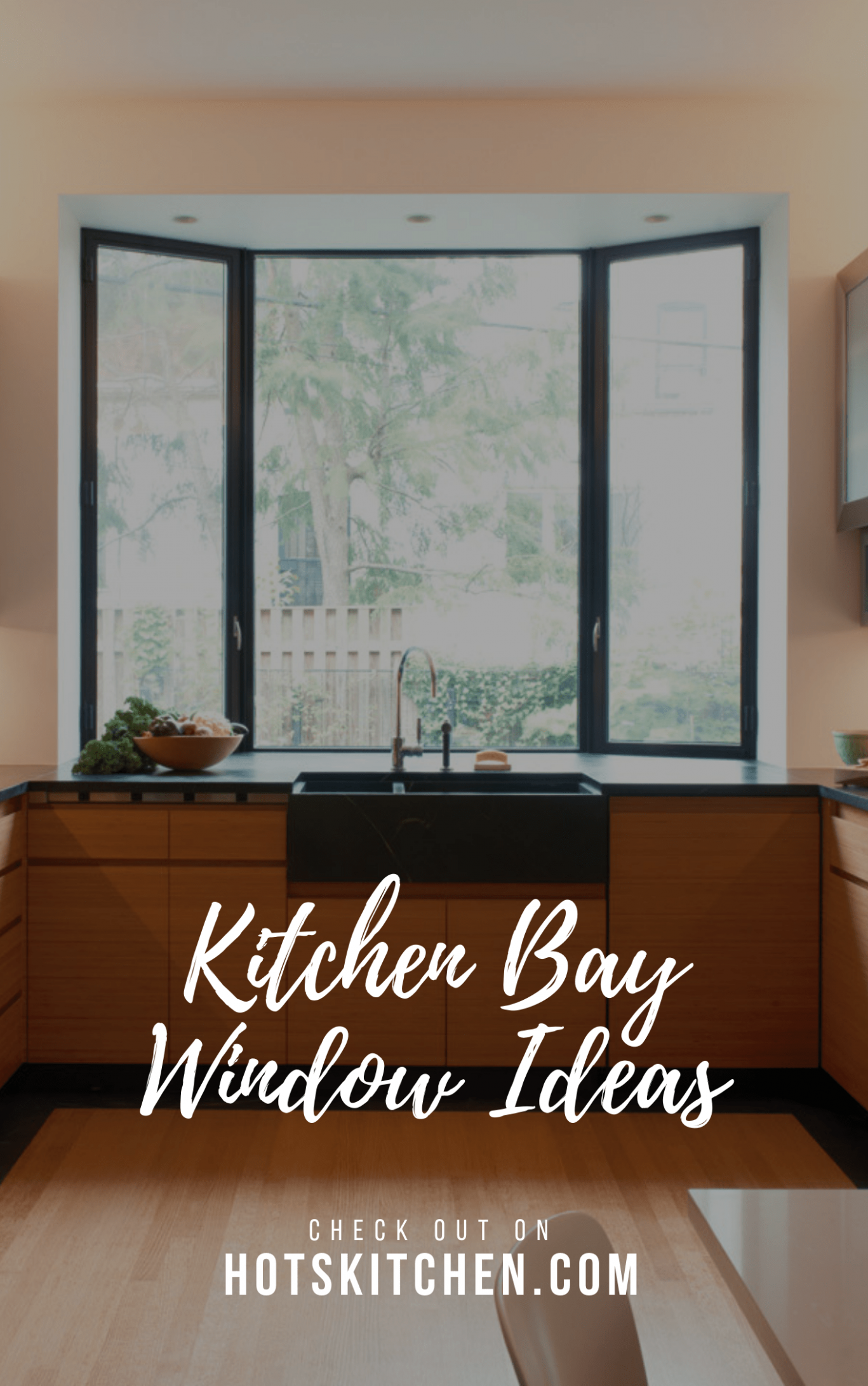 9+ Kitchen Bay Window Ideas (Type of Window & How to Decorate ...