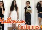 9 LAST MINUTE HALLOWEEN COSTUME IDEAS! *QUICK & EASY*