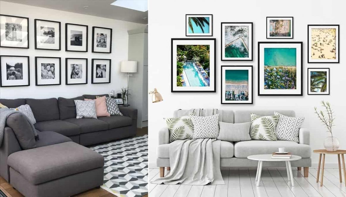 9 Living Room Wall Decor Ideas - Remodel Or Move - wall decor ideas picture frame