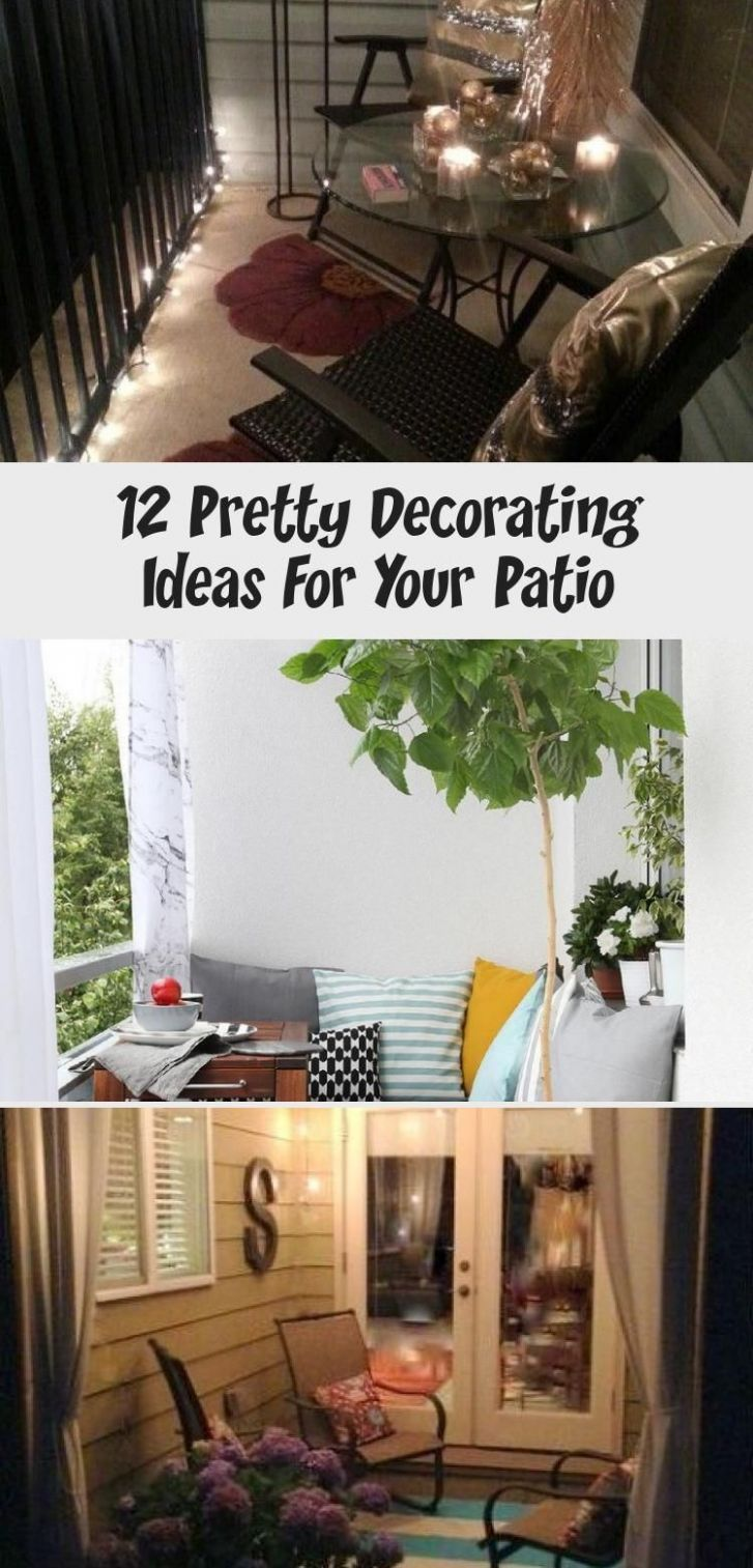 9 Pretty Decorating Ideas For Your Patio - Home Decor Diy ..