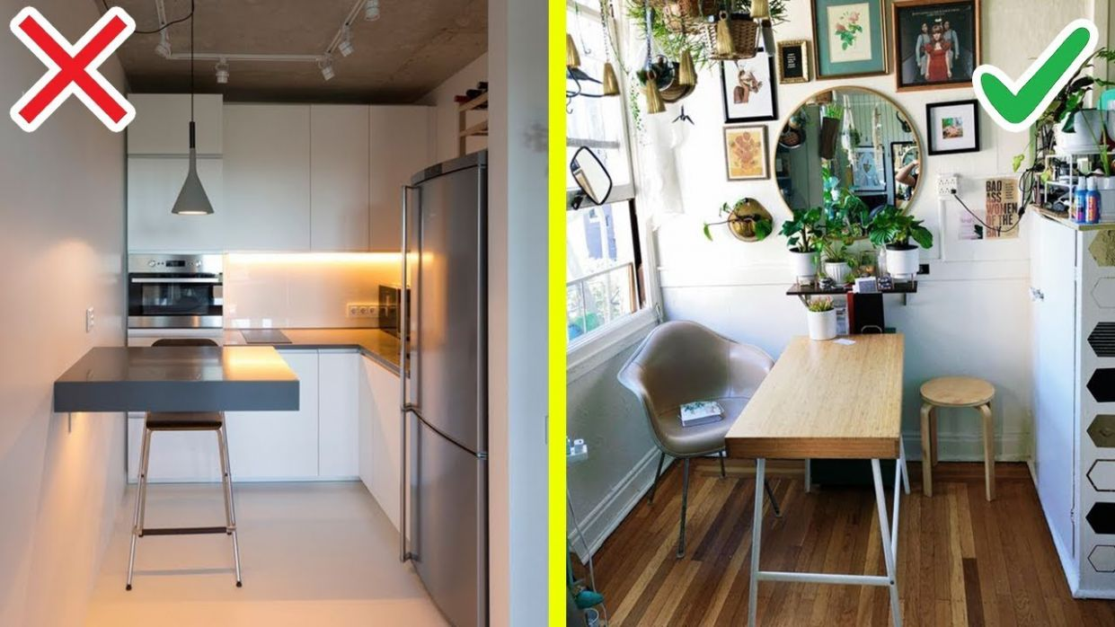 9 Smart STUDIO APARTMENT MAKEOVER with TIGHT BUDGET - apartment design on a budget