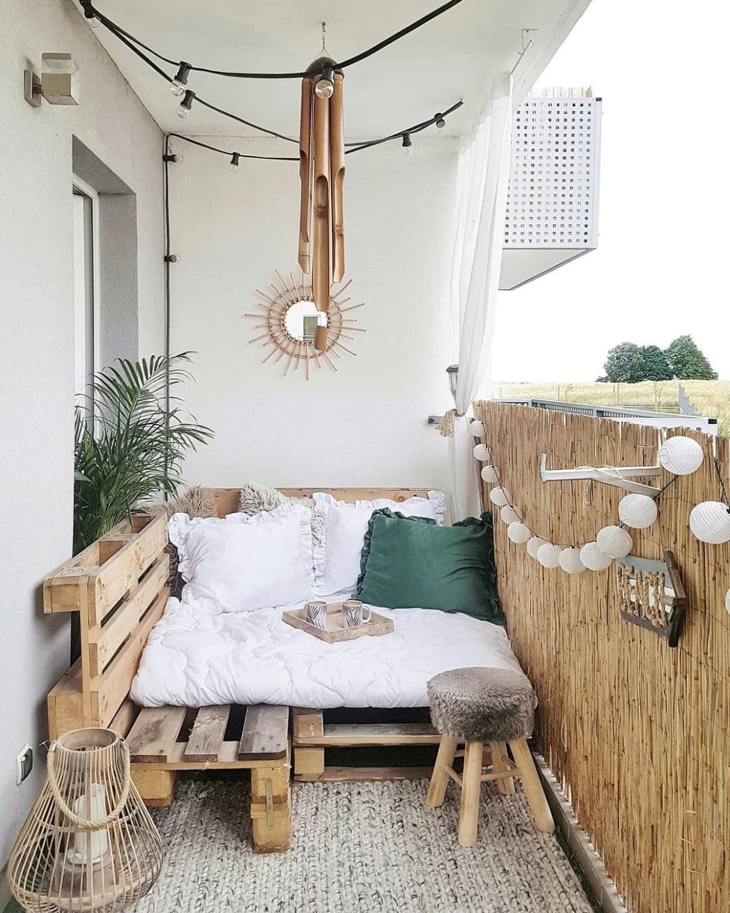 9 Ways to Make the Most of Your Tiny Apartment Balcony