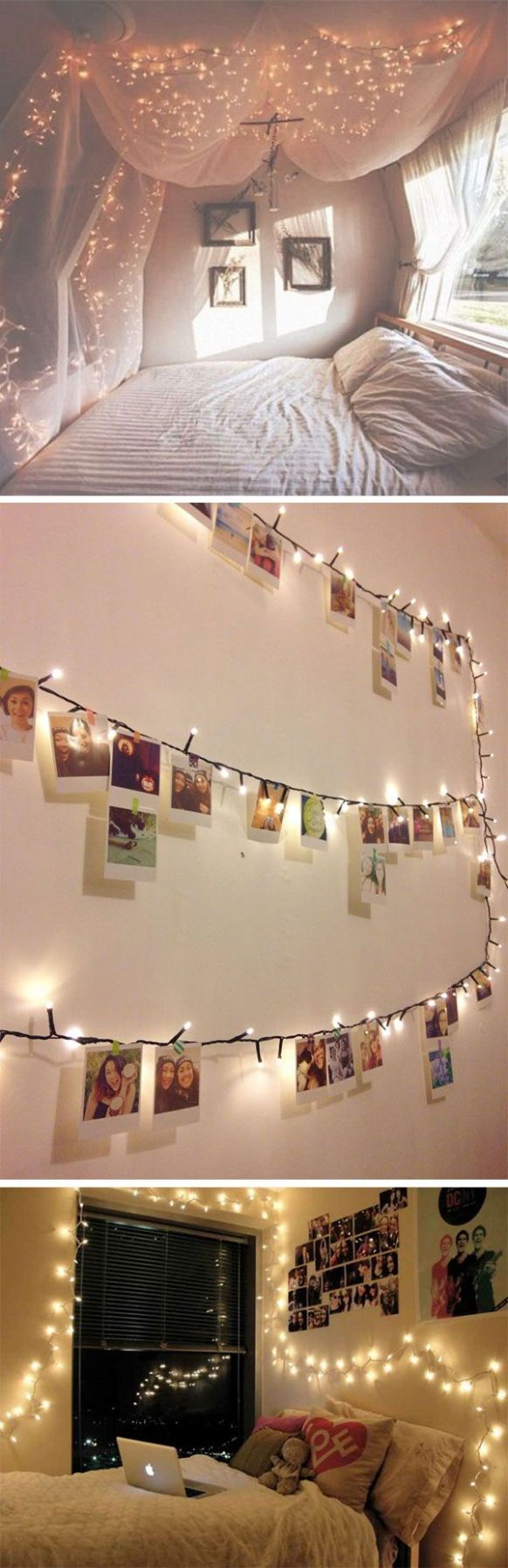 9 ways to use fairy lights and make your bedroom look magical ..