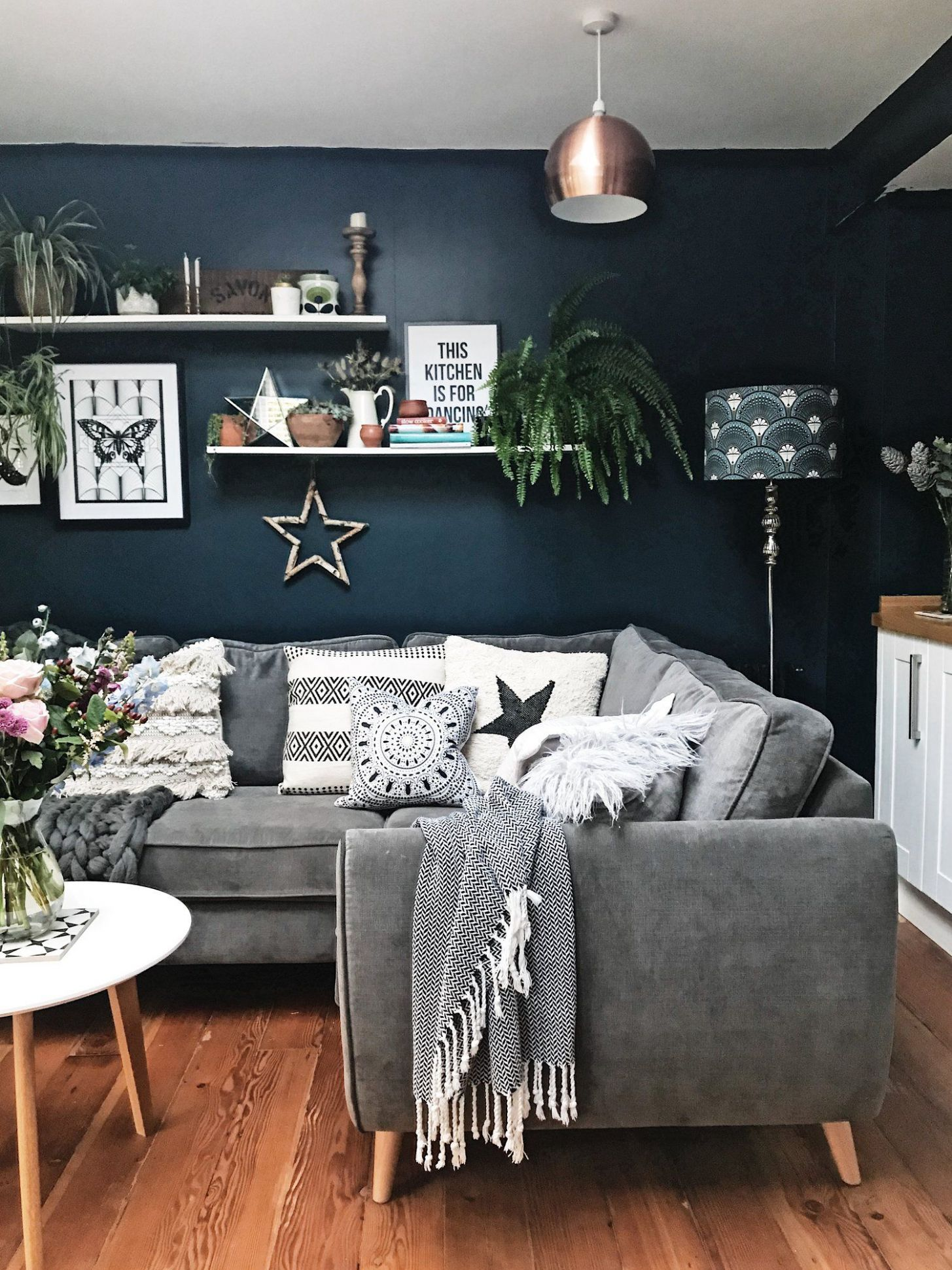 A Quick(ish) Kitchen Update | Living room grey, Living room ..