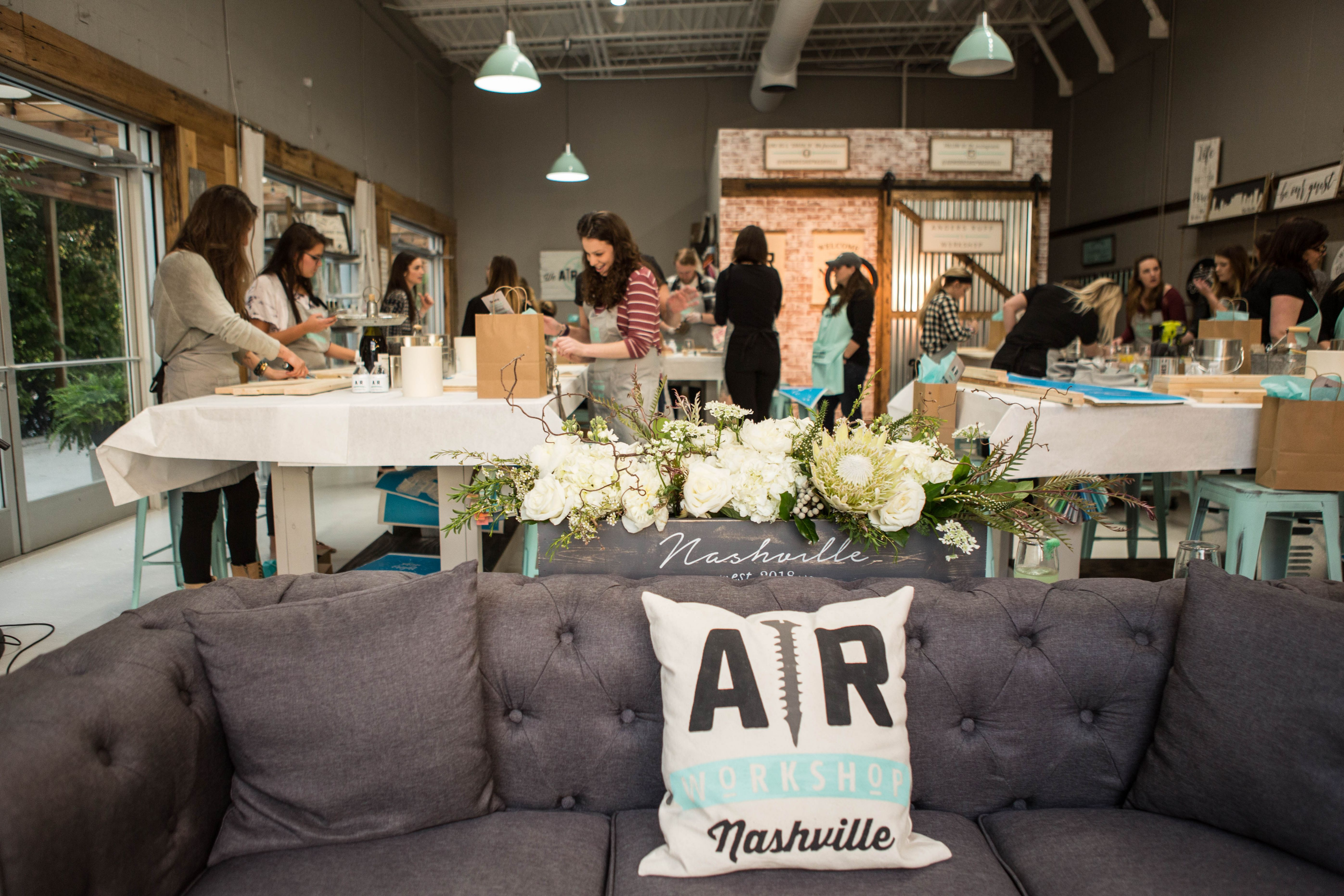 AR Workshop Nashville Brings DIY Home Décor Options to Tennessee